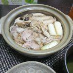 今夜の晩酌 豚肉とキノコの常夜鍋