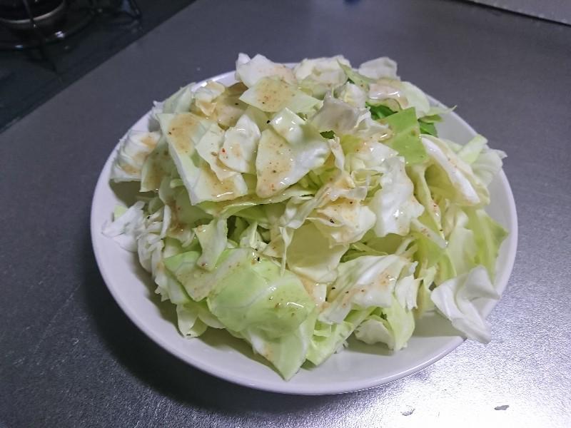 タレ塩キャベツ