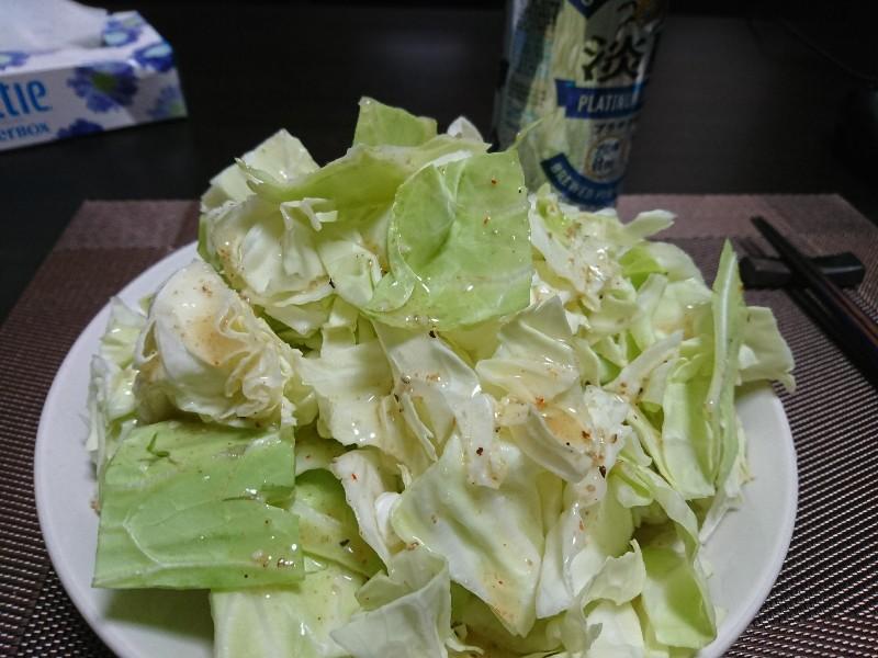 ニンニク塩キャベツ
