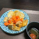 やっぱり和食はいい、今宵の晩酌は秋鮭と根菜の煮物を肴に