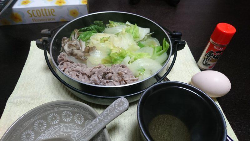 豚キャベ鍋