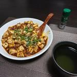 今夜の晩酌 麻婆豆腐を肴に一杯
