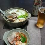 今夜の晩酌 肉豆腐で一杯